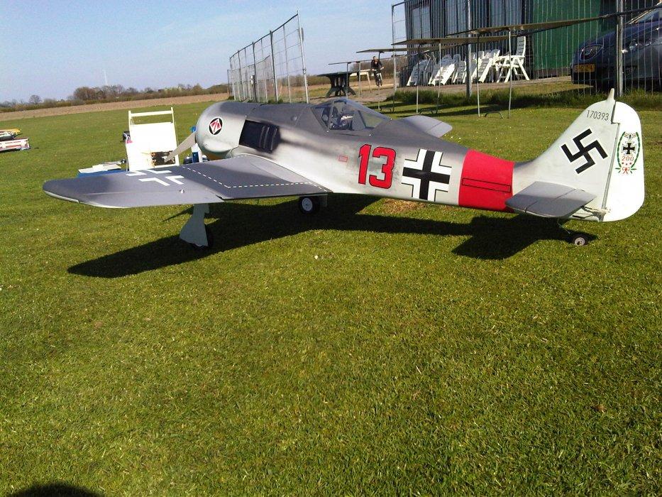 FW-190 van Volkert Wagenaar